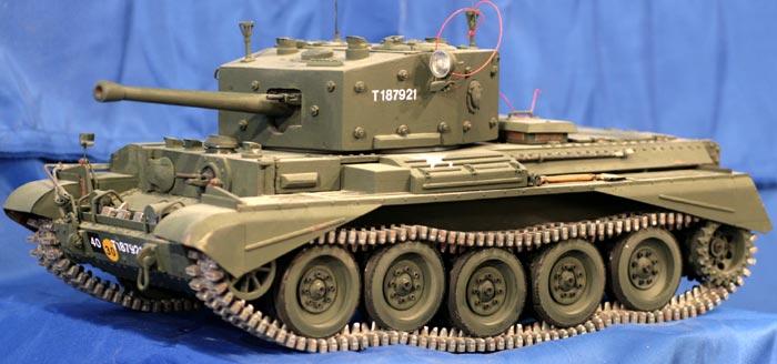 Model zdalnie sterowany, czołgu Cromwell