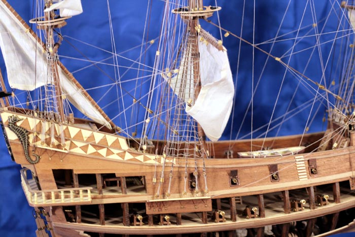 Model okrętu San Juan Bautista (Jan Chrzciciel)